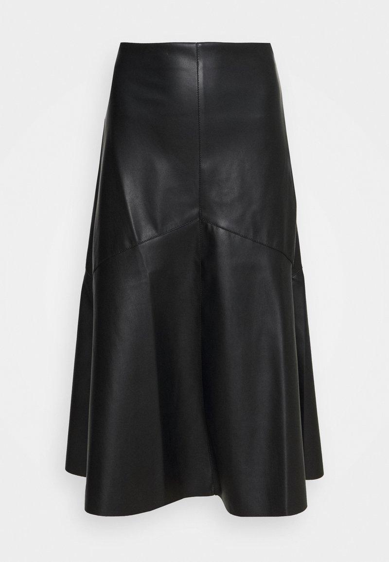 Wallis - ALINE SKIRT - A-line skirt - black