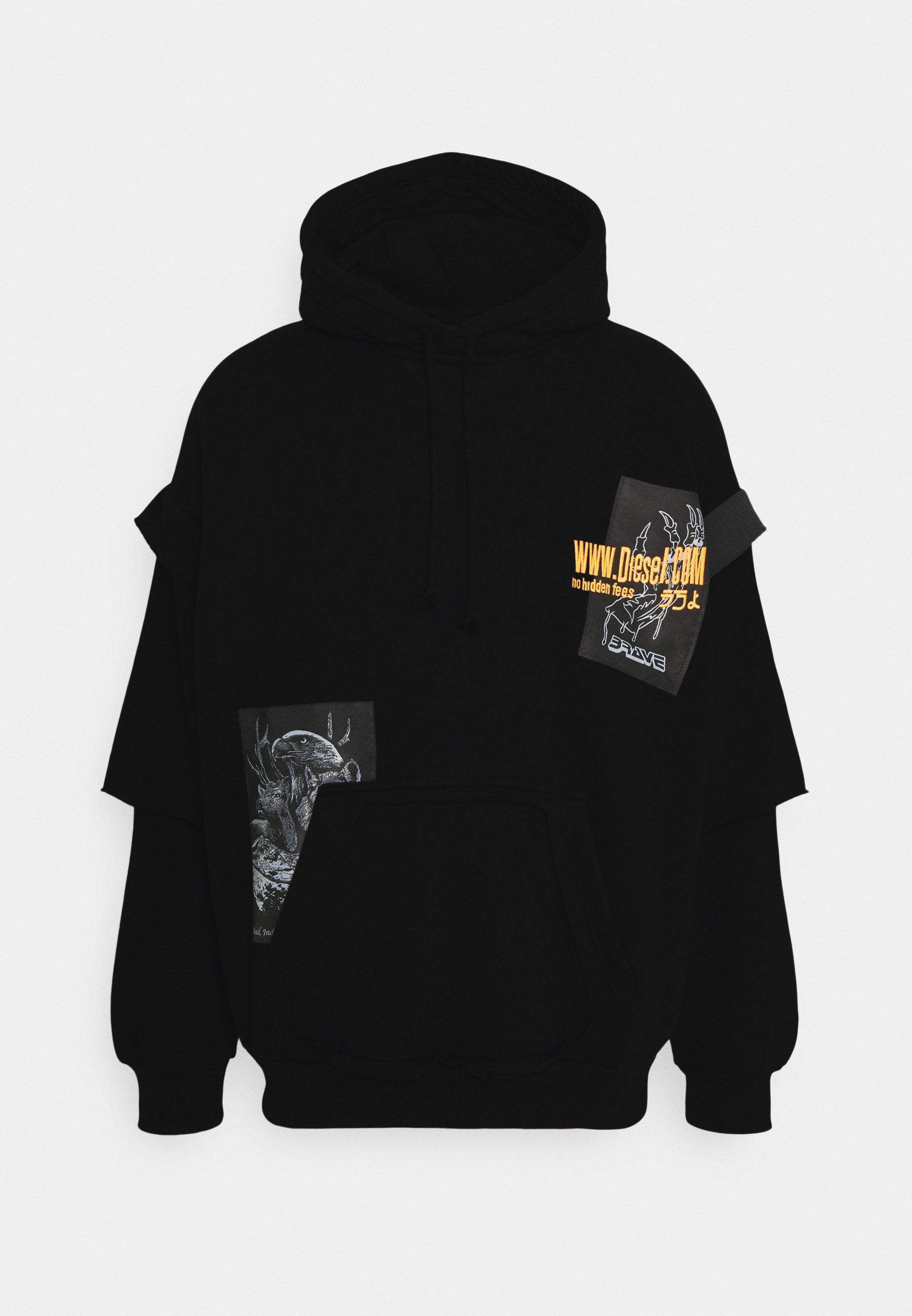 Men S-UBBER FELPA UNISEX - Zip-up sweatshirt