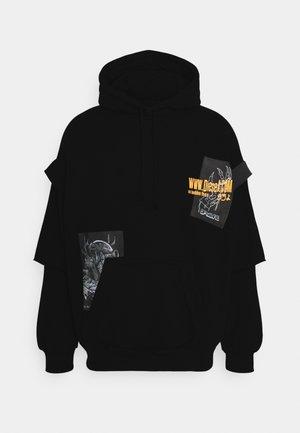 S-UBBER FELPA UNISEX - Zip-up hoodie - black