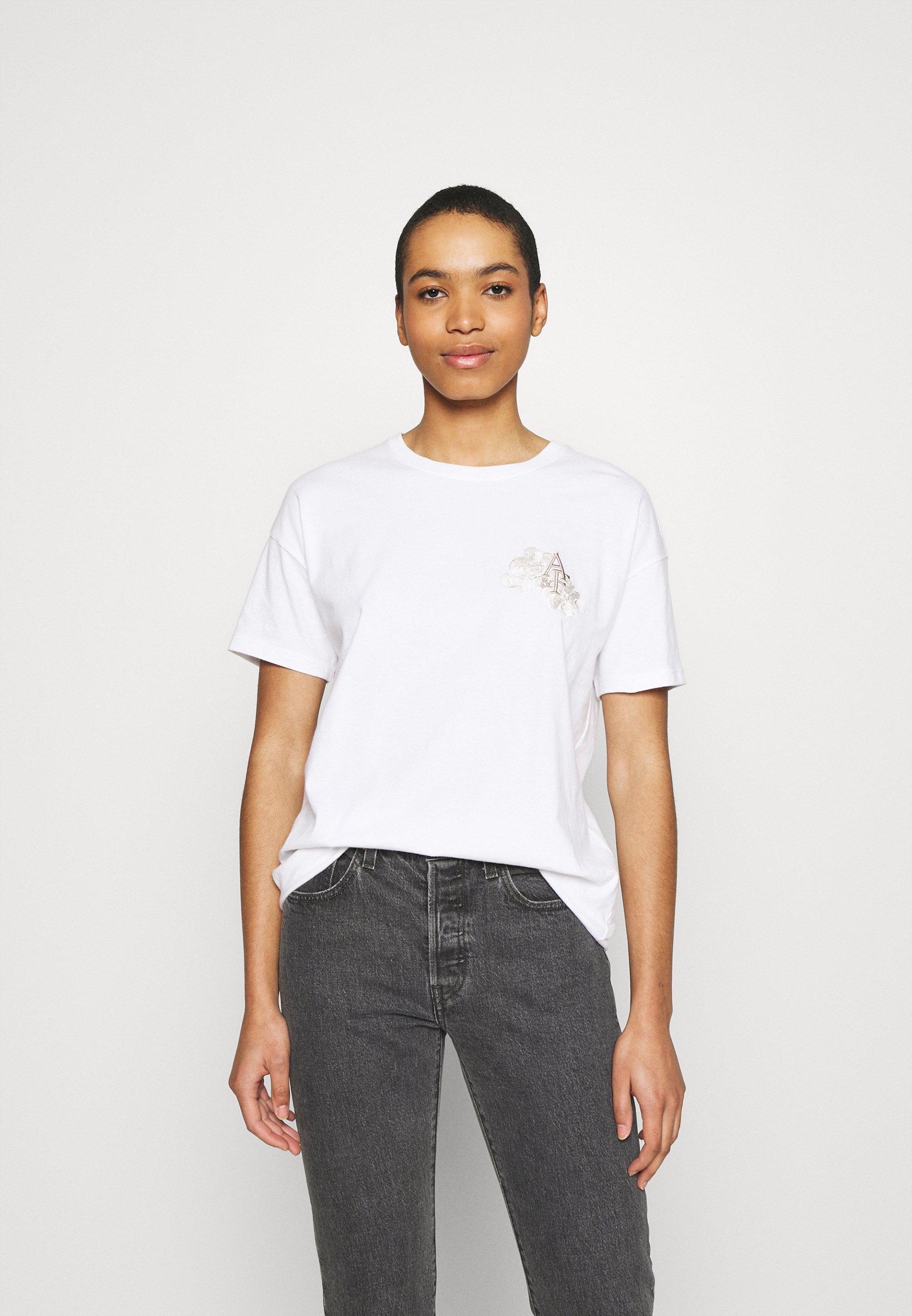 Damen BOYFRIEND LOGO TEE - T-Shirt print