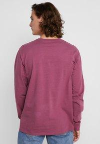Carhartt WIP - POCKET  - Long sleeved top - dusty fuchsia - 2