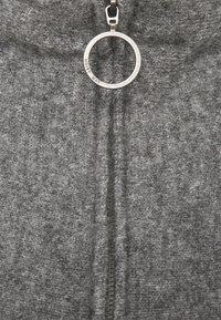 Noisy May - NMNEWALICE HIGH NECK - Jumper - mottled grey - 2