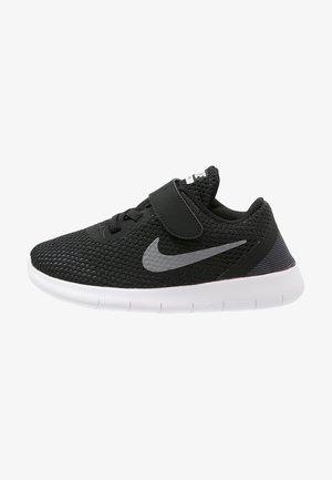 FREE RUN - Minimalist running shoes - black/metallic silver/anthracite