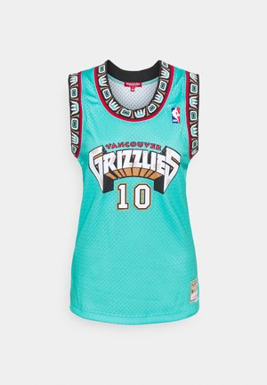 NBA VANCOUVER GRIZZLIES WOMENS SWINGMAN MIKE BIBBY #10 - Klubové oblečení - teal