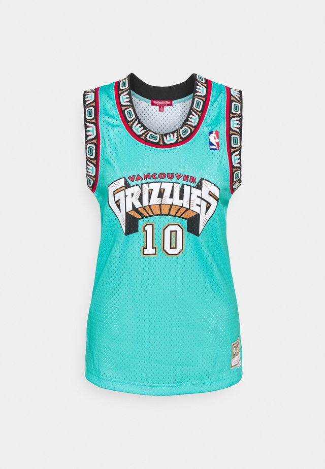 NBA VANCOUVER GRIZZLIES WOMENS SWINGMAN MIKE BIBBY #10 - Article de supporter - teal
