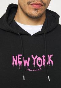Nominal - NEW YORK HOOD - Sweater - black - 5