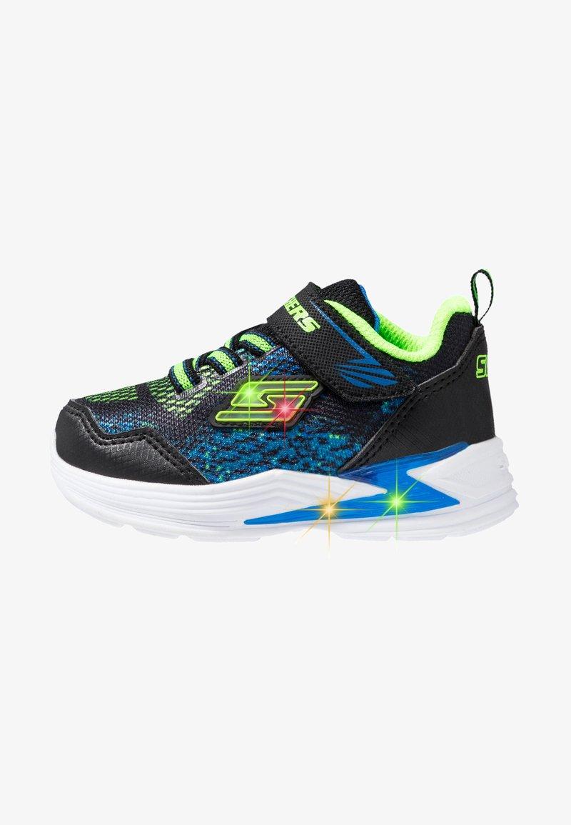 Skechers - ERUPTERS - Zapatillas - black/blue/lime