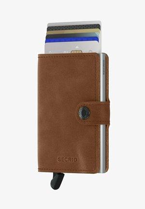 Wallet - vintage cognag