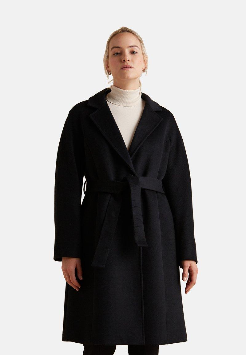 Elena Mirò - Classic coat - nero
