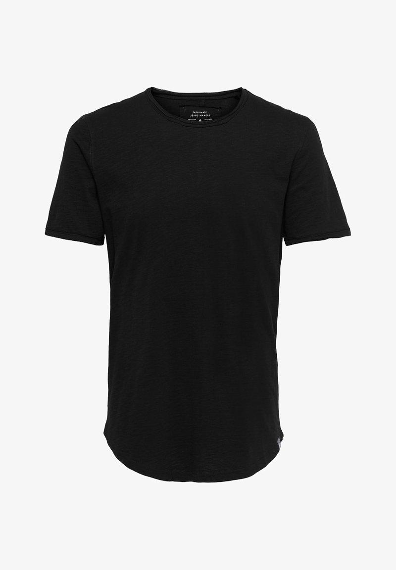 Only & Sons - ONSBENNE LIFE - T-shirt - bas - black