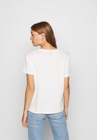 Mos Mosh - LEAH TEE - Print T-shirt - ecru - 2
