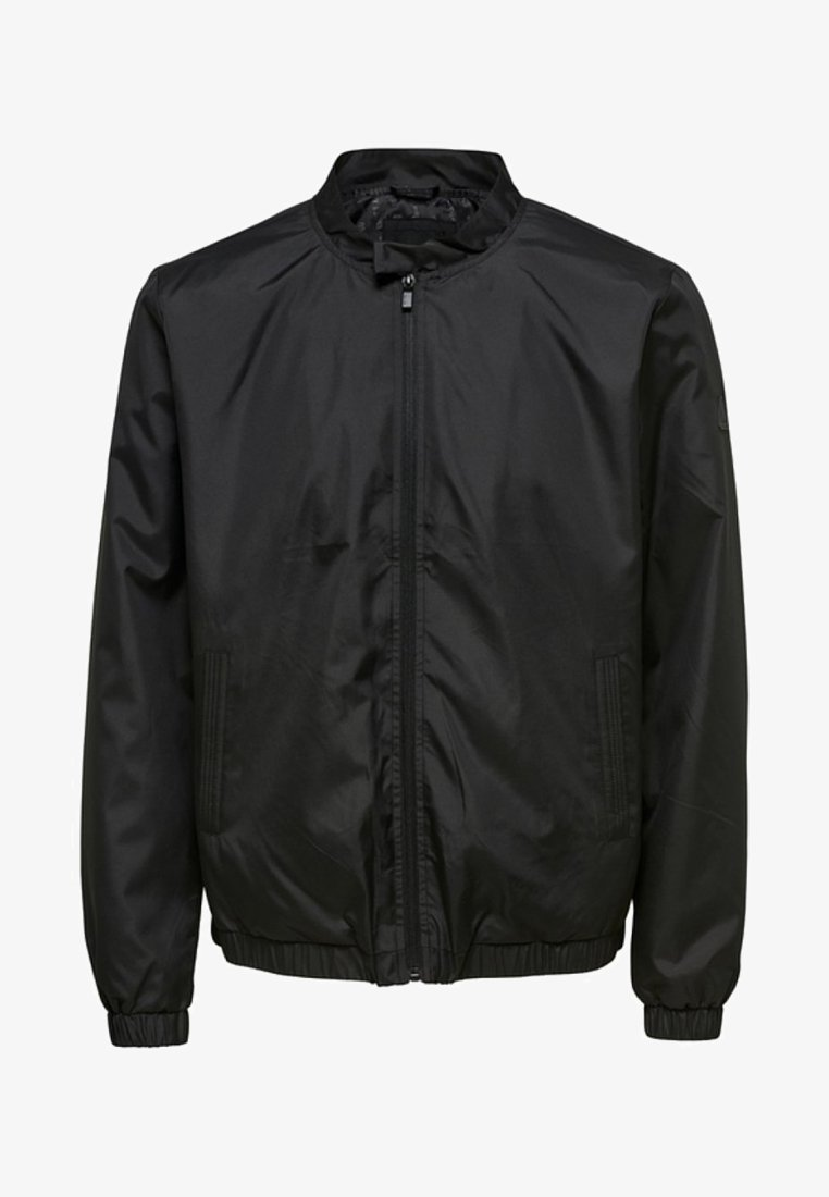 Only & Sons - ONSANTHONEY - Chaqueta fina - black