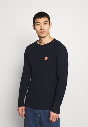 PIECE  KNIT - Svetr - dark navy