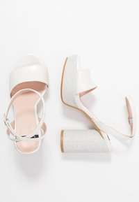 LAB - High heeled sandals - white/silver - 2