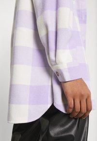 Noisy May - NMFRANNIE  SHAKET - Classic coat - pastel lilac - 5