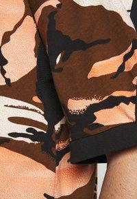 adidas Performance - STREET - Print T-shirt - brown - 5