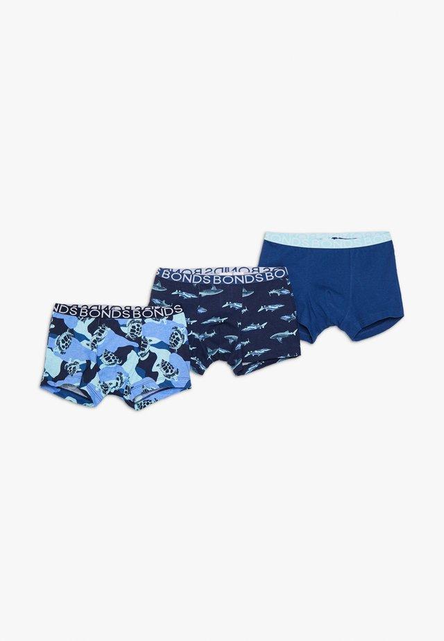TRUNK 3 PACK - Onderbroeken - blue