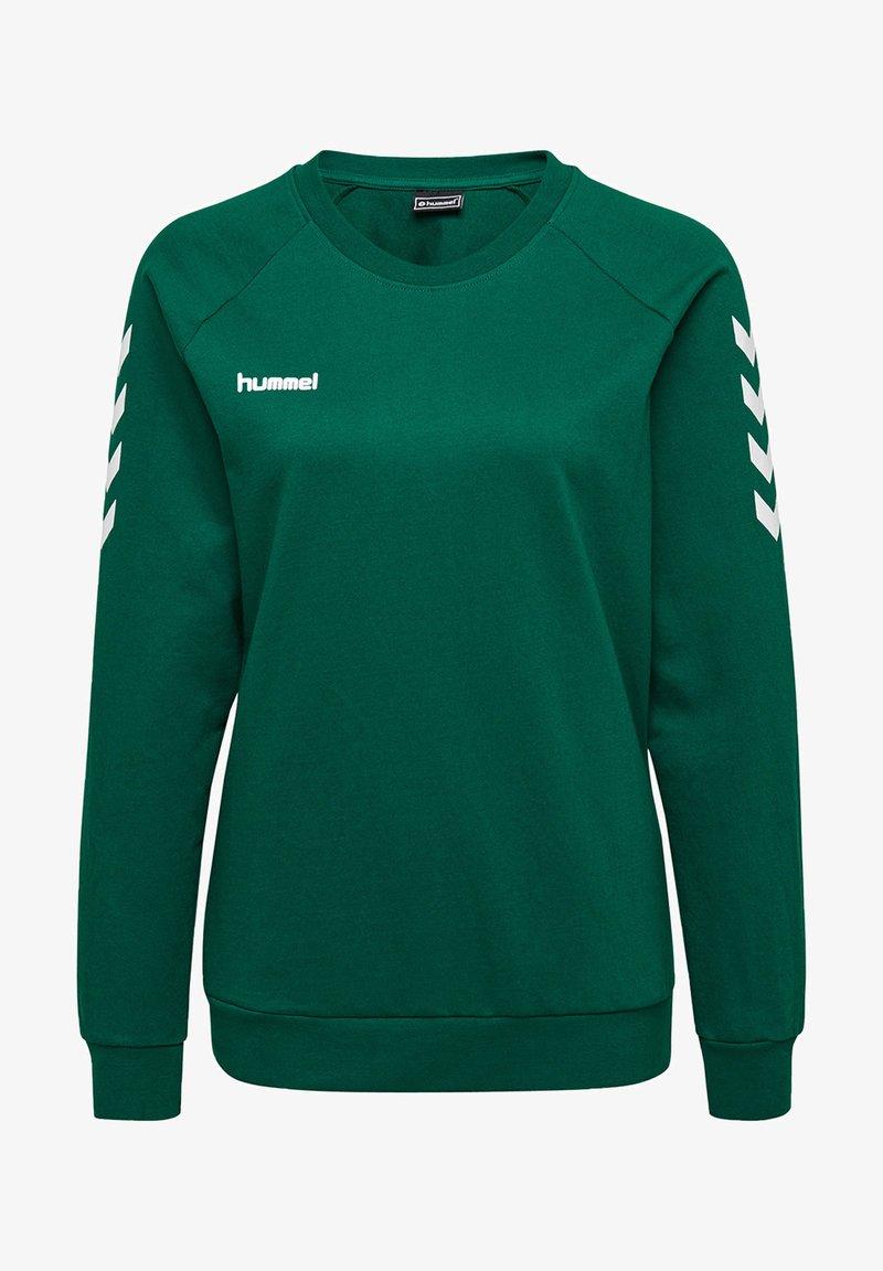 Hummel - Sweatshirt - evergreen