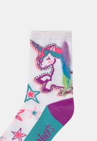 Skechers - GIRLS UNICORN 6 PACK - Calcetines - white - 2