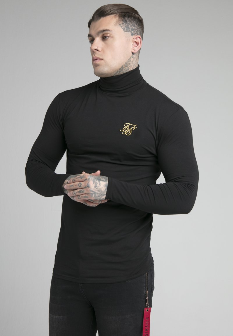 SIKSILK - ROLL NECK - Long sleeved top - black