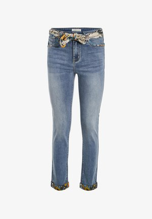 Slim fit jeans - denim double stone