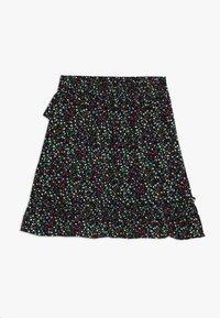 Kids ONLY - KONTHYRA FAKE WRAP SKIRT - A-snit nederdel/ A-formede nederdele - black - 1