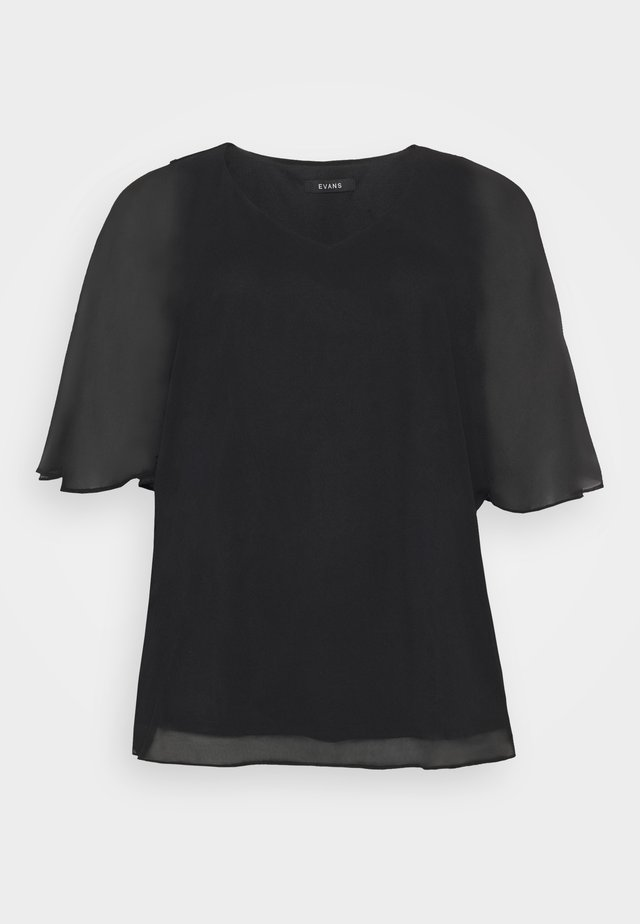 OVERLAY - Blouse - black