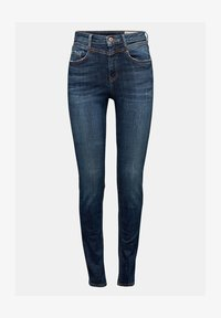 edc by Esprit - Jeans Skinny Fit - blue dark washed - 4