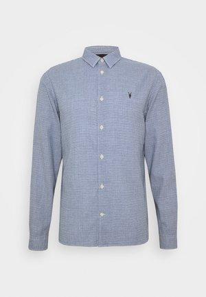 WOODROW  - Shirt - blue/white