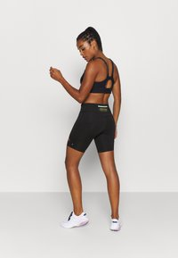 Nike Performance - FAST SHORT TRAIL - Leggings - black - 2