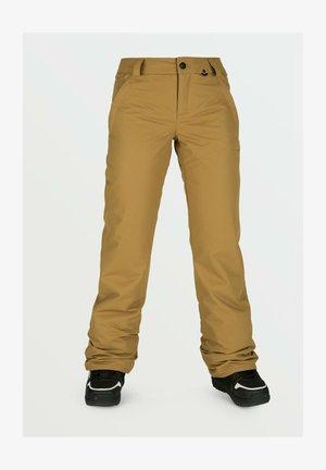 Pantalon de ski - burnt_khaki