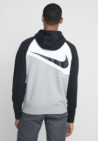 Nike Sportswear - Sudadera con cremallera - grey heather/white/black - 2