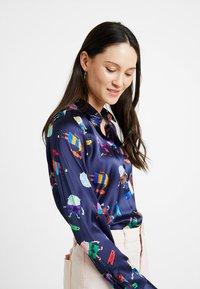 van Laack - CARRY - Button-down blouse - purple - 4