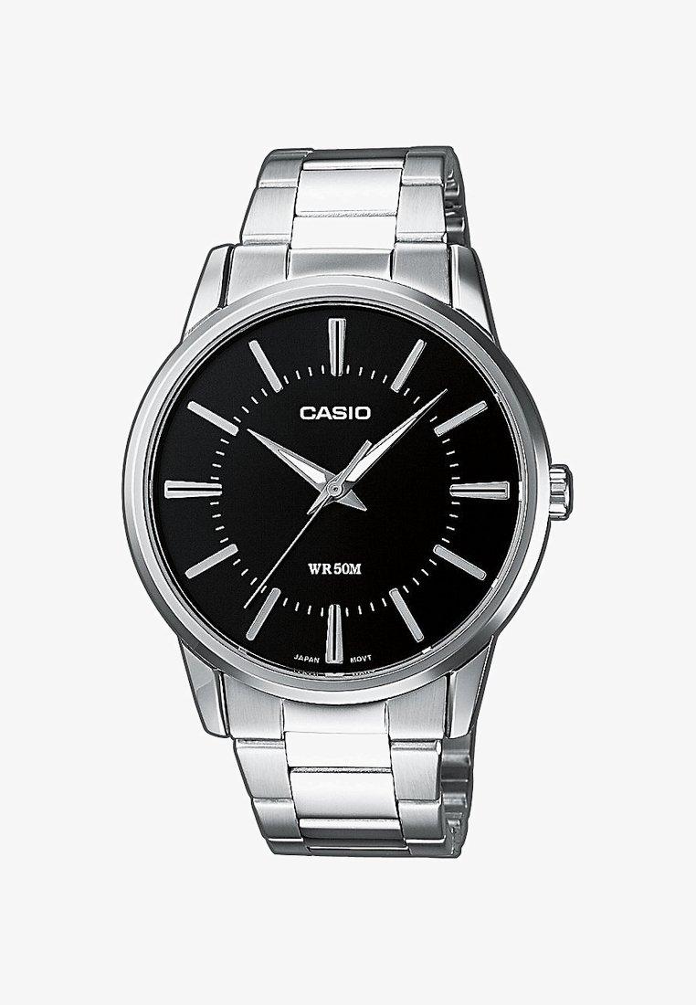 Casio - Watch - silver-coloured/black