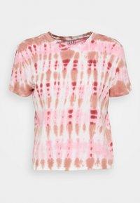 GAP - SHRUNKEN TEE - T-shirt imprimé - pink - 0