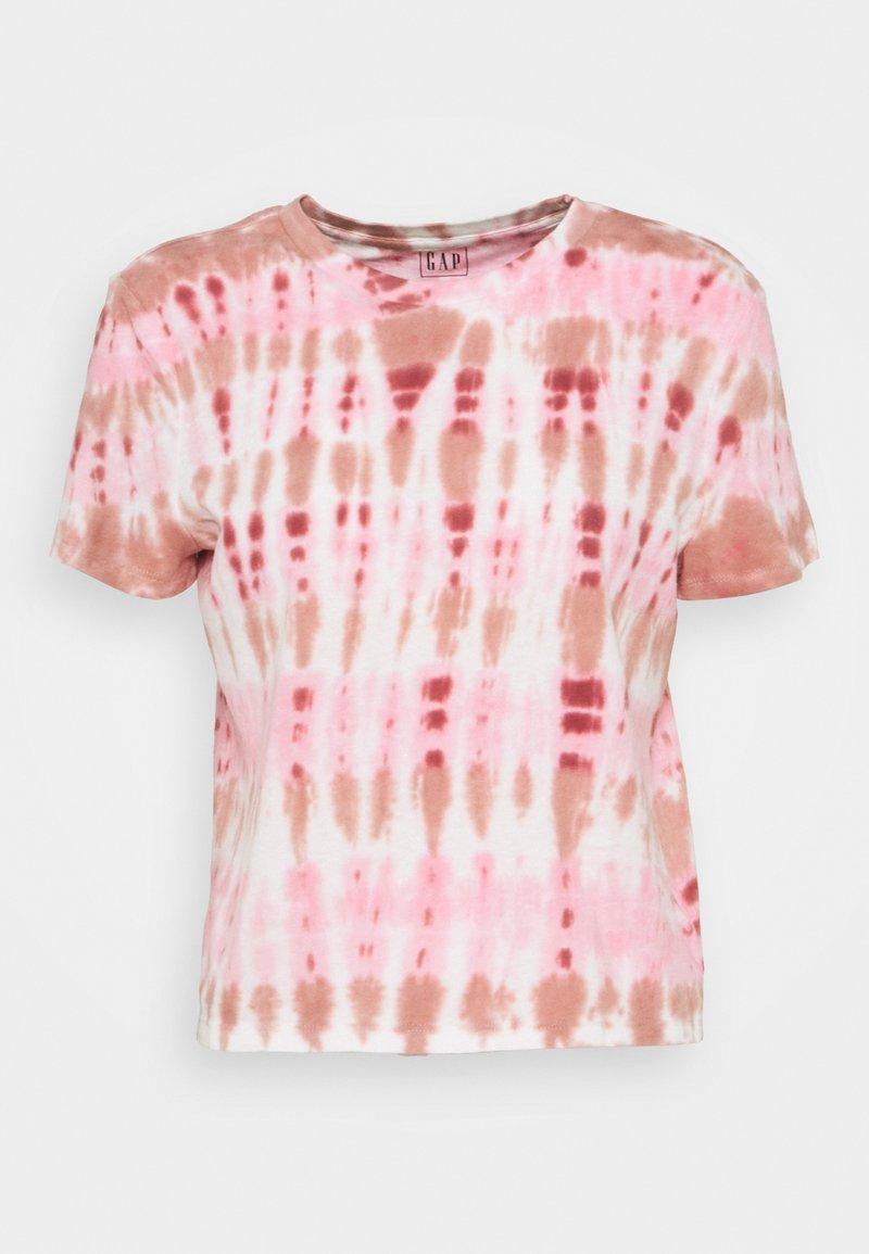 GAP - SHRUNKEN TEE - T-shirt imprimé - pink