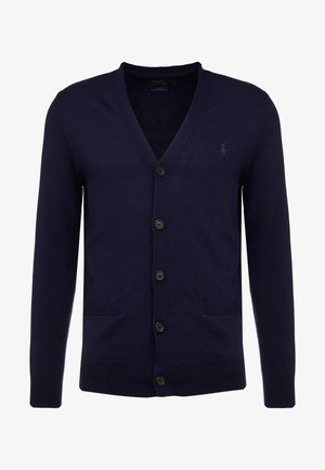 Strickjacke - hunter navy