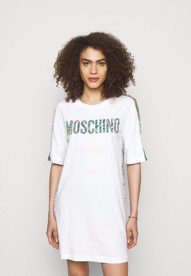 DRESS - Jerseyjurk - white