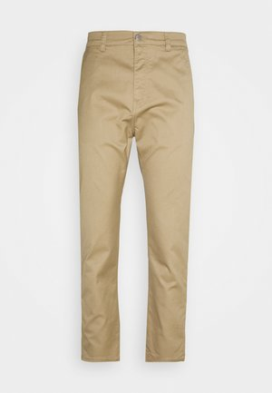 UNIVERSE PANT CROPPED - Straight leg jeans - stone beige