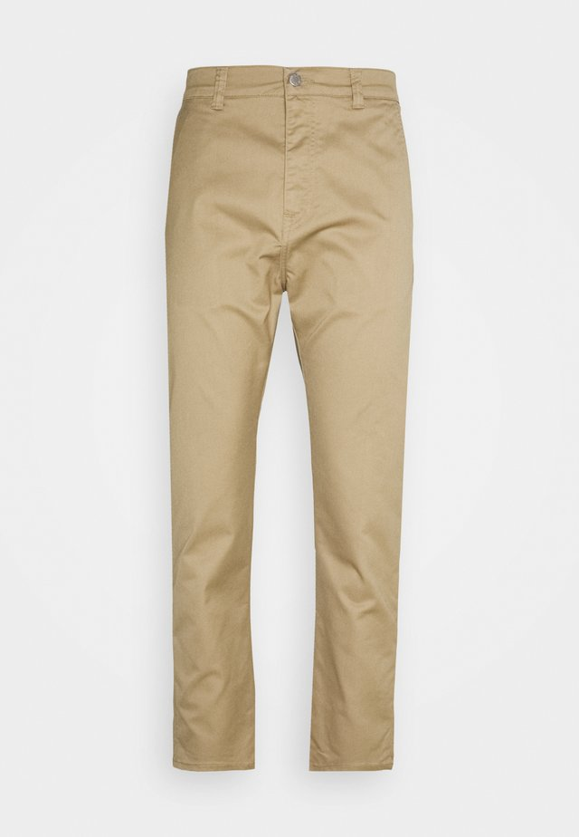 UNIVERSE PANT CROPPED - Jeans straight leg - stone beige