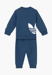 adidas Originals - BIG TREFOILCREW SET - Survêtement - marin/white - 1