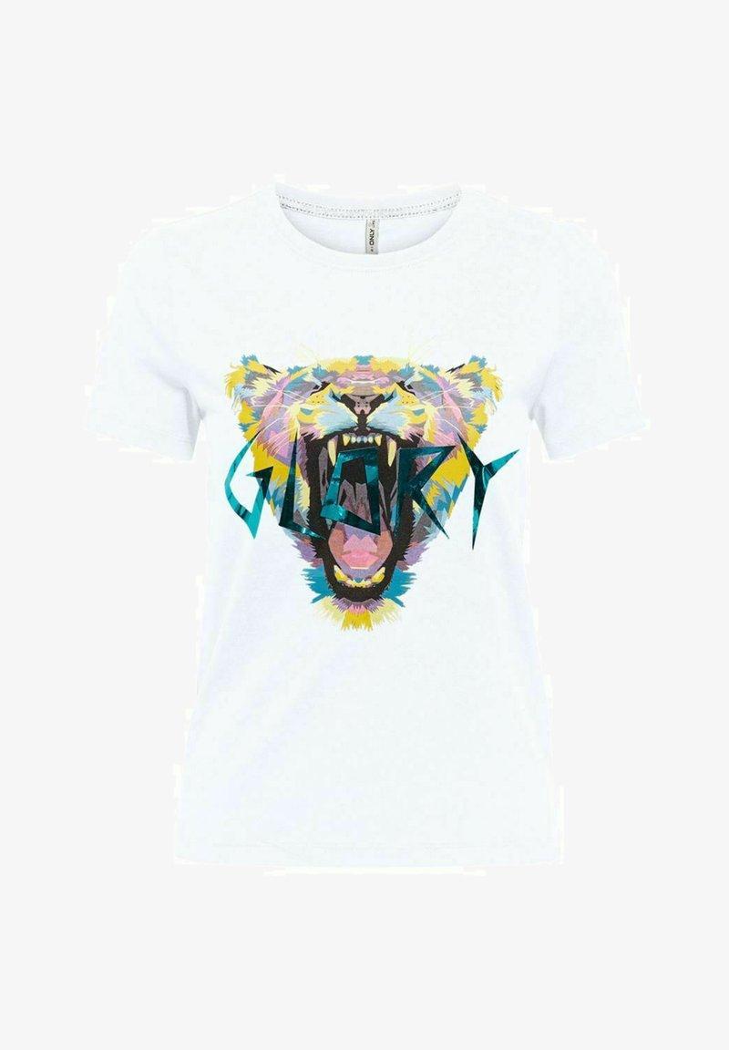 ONLY - Print T-shirt - bright white
