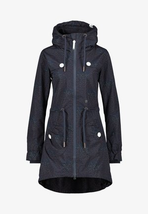 CHARLOTTEAK - Short coat - marine