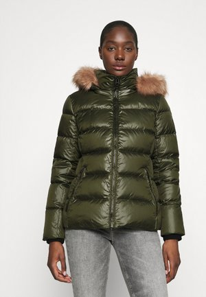 ESSENTIAL JACKET - Doudoune - dark olive