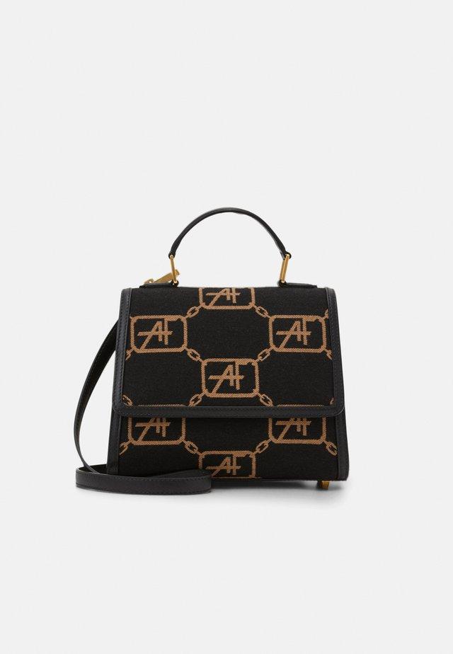 MEDIUM TOP HANDLE LOGO - Handbag - fantasy/black