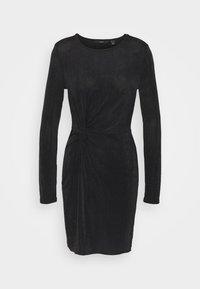 Vero Moda - VMAMIRA DRESS - Day dress - black - 4