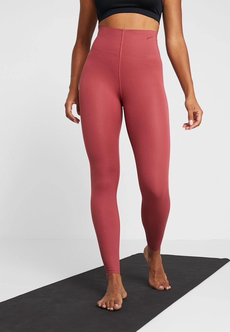 Nike Performance - W NK SCULPT LUX TGHT 7/8 - Tights - cedar/clear