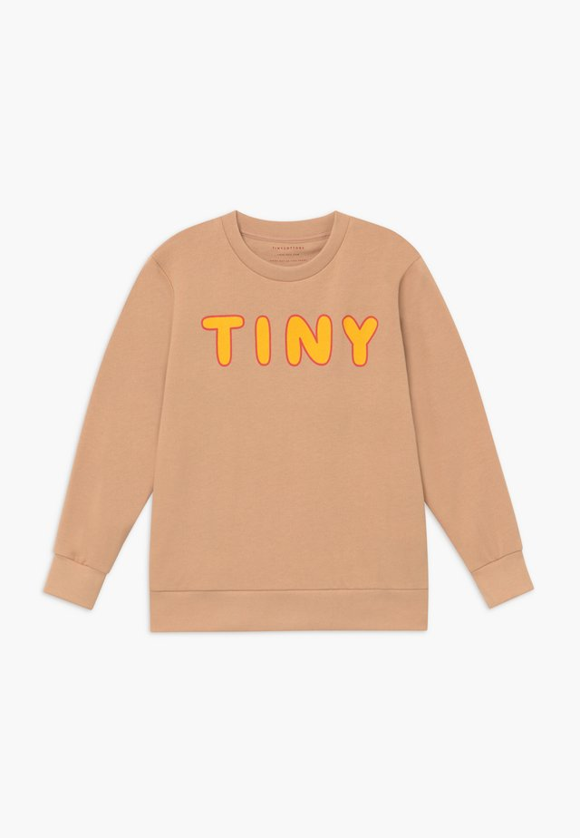 Sweatshirt - nude/yellow