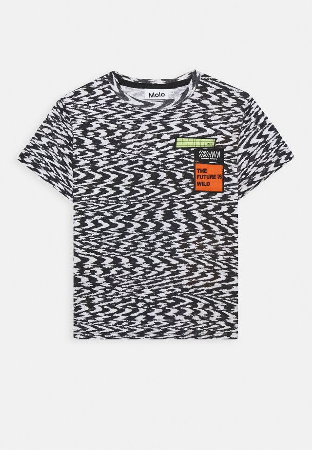 ROXO - Print T-shirt - interference