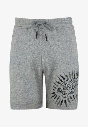 TIGER LIGHTNING SHORT - Shorts - grey